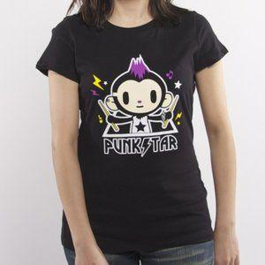 Tokidoki Heavy Metal Punkstar Maxx T-Shirt (Black)